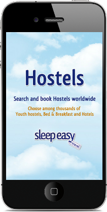 App Hostels di Omnys per iPhone